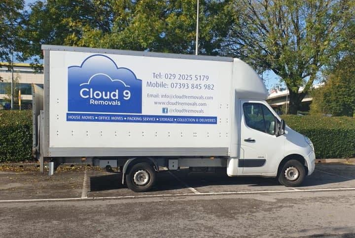 Cloud 9 removals box van